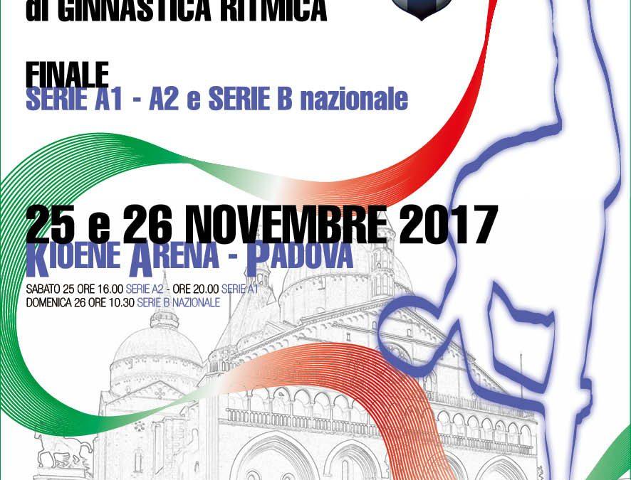 Finale Serie A e B – Ginnastica Ritmica